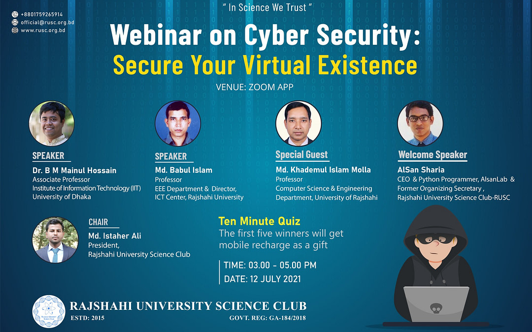 CyberSecurity:Secure Your Virtual Existence
