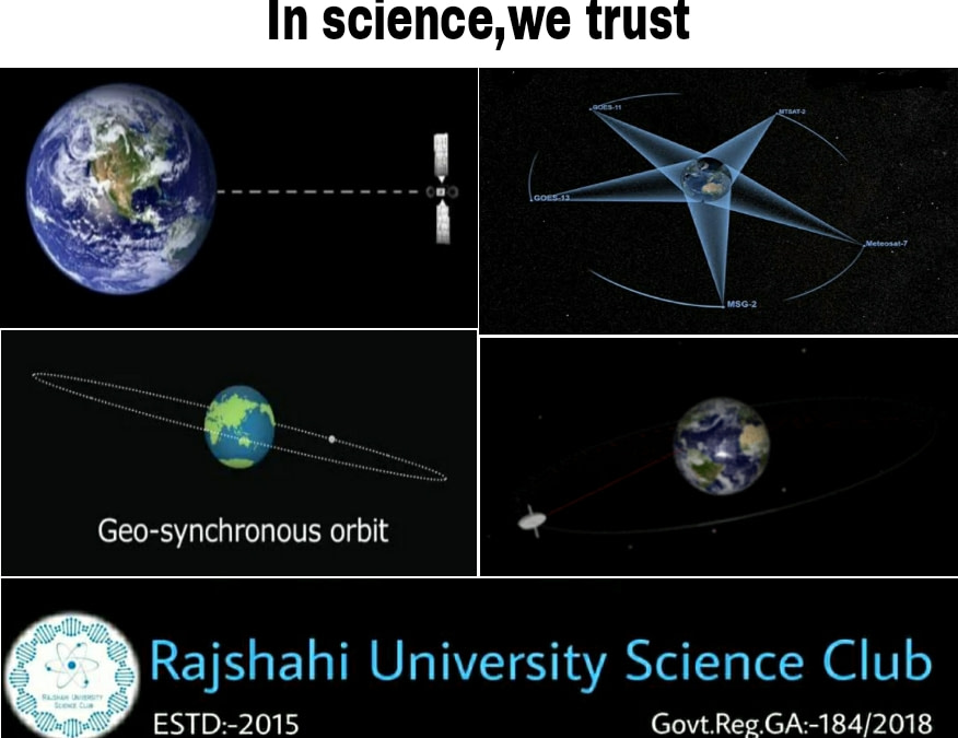 Geosynchronous Orbit বা ভূ-সংশ্লেষক কক্ষপথ