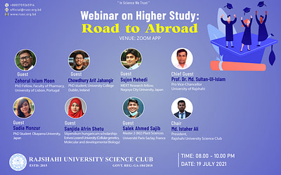 Webinar on Higher Study: Road To Abroad